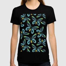 Queen Alexandra' s birdwing butterfly pattern design T-shirt