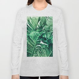 Tropical State of Mind #painting #tropical Long Sleeve T-shirt