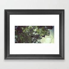 The Strike Framed Art Print
