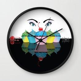 Sweet Tooth Eyes! Wall Clock
