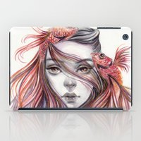 fight iPad Cases featuring Fight by Koanne Ko