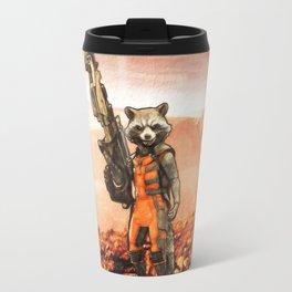 Rocket Raccoon Travel Mug