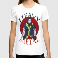 heavy metal T-shirts featuring Heavy Metal by Iron King