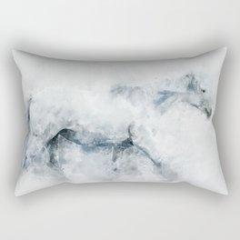 Watercolour Pony Horse Rectangular Pillow