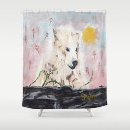 Polar Bear (day excursion) Shower Curtain