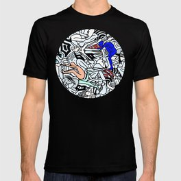 Retro Kamasutra LOVE Doodle  T-shirt