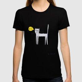 A Cat Saying No T-shirt