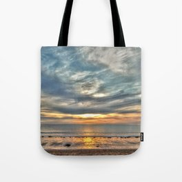 Sunset on the Llyn Peninsula Tote Bag