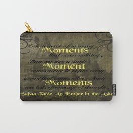 An Ember in the Ashes - Moments Carry-All Pouch