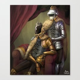 Robot Overlords Canvas Print