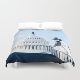 Our Nations Capitol Duvet Cover