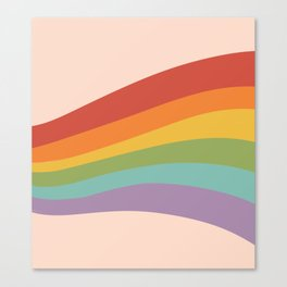 Rainbow Stripes 4 Canvas Print