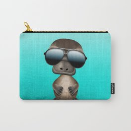 Cool Baby Platypus Wearing Sunglasses Carry-All Pouch