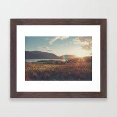 Ireland Landscape Framed Art Print