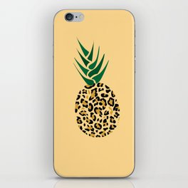 Leopard Pineapple Picture iPhone Skin