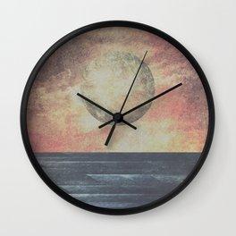 Restless moonchild Wall Clock