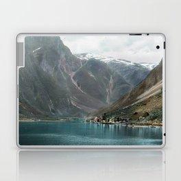 Village by the Lake & Mountains Laptop & iPad Skin