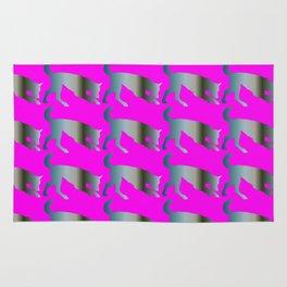 Wolf pattern Rug