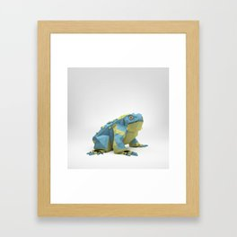 The Paper Fox : Toad Framed Art Print