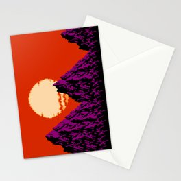 DEEP SUNSET Stationery Cards