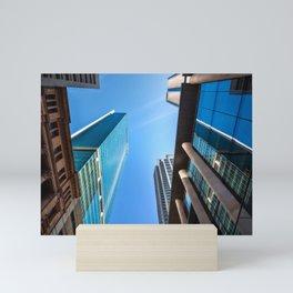 Monumental Skyscrapers in Sydney Mini Art Print