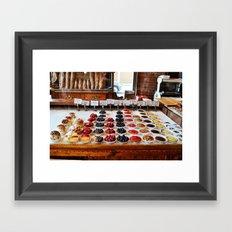 Breakfast Tarts Framed Art Print