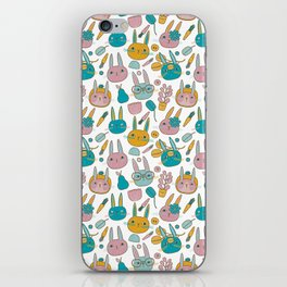 Pattern Project #14 / Bunny Faces iPhone Skin