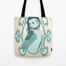 Beauty and the Ball Gag Tote Bag
