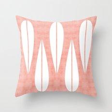 Make Mine MCM Pink Throw Pillow