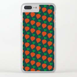 Radish Clear iPhone Case