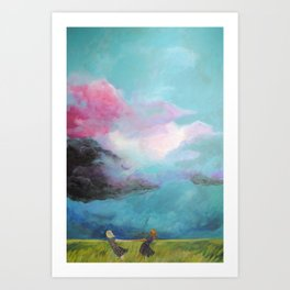 Together They Were Unstoppable Art Print