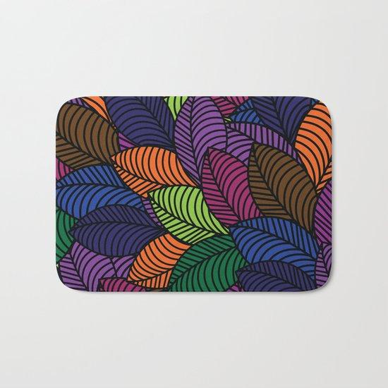 Pattern H Bath Mat