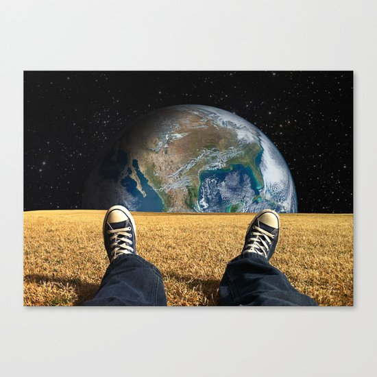 World view Canvas Print