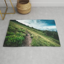 Tatoosh Peak Mt. Rainier National Park Washington Rug