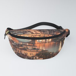 ponte vecchio in florence Fanny Pack