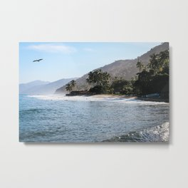 Mexico Secluded Beach Paradise  Metal Print