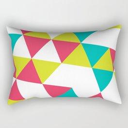 TROPICAL TRIANGLES - Vol 2 Rectangular Pillow