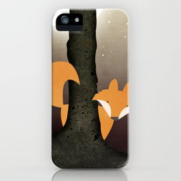 The Forest Fox iPhone Case