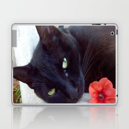 Luna the black queen Laptop & iPad Skin