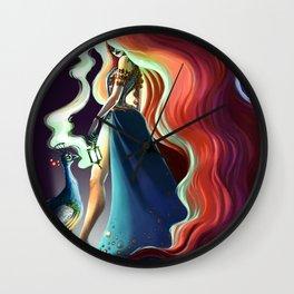 Circe's smoke Wall Clock