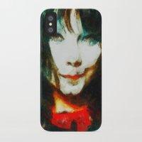 bjork iPhone & iPod Cases featuring BJork by avida