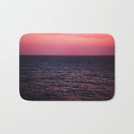 Pretty Pink Sunset Bath Mat