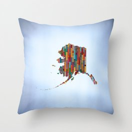 State of Mind - Alaska Throw Pillow