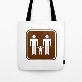 "Urban Picotgrams ""Family Men"" Tote Bag"