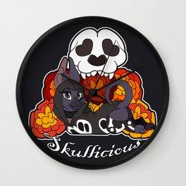 Skullicious Wall Clock