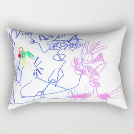 Jell-O Dinosaurs Rectangular Pillow