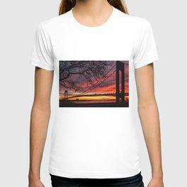 Sunrise at the Bridge T-shirt
