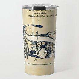 HD Motorcycle Patent - Circa 1924 Travel Mug