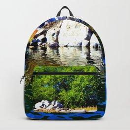 Beautiful Blue Nile River Backpack