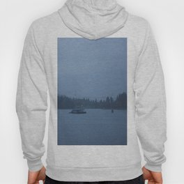Foggy harbour Vancouver Hoody